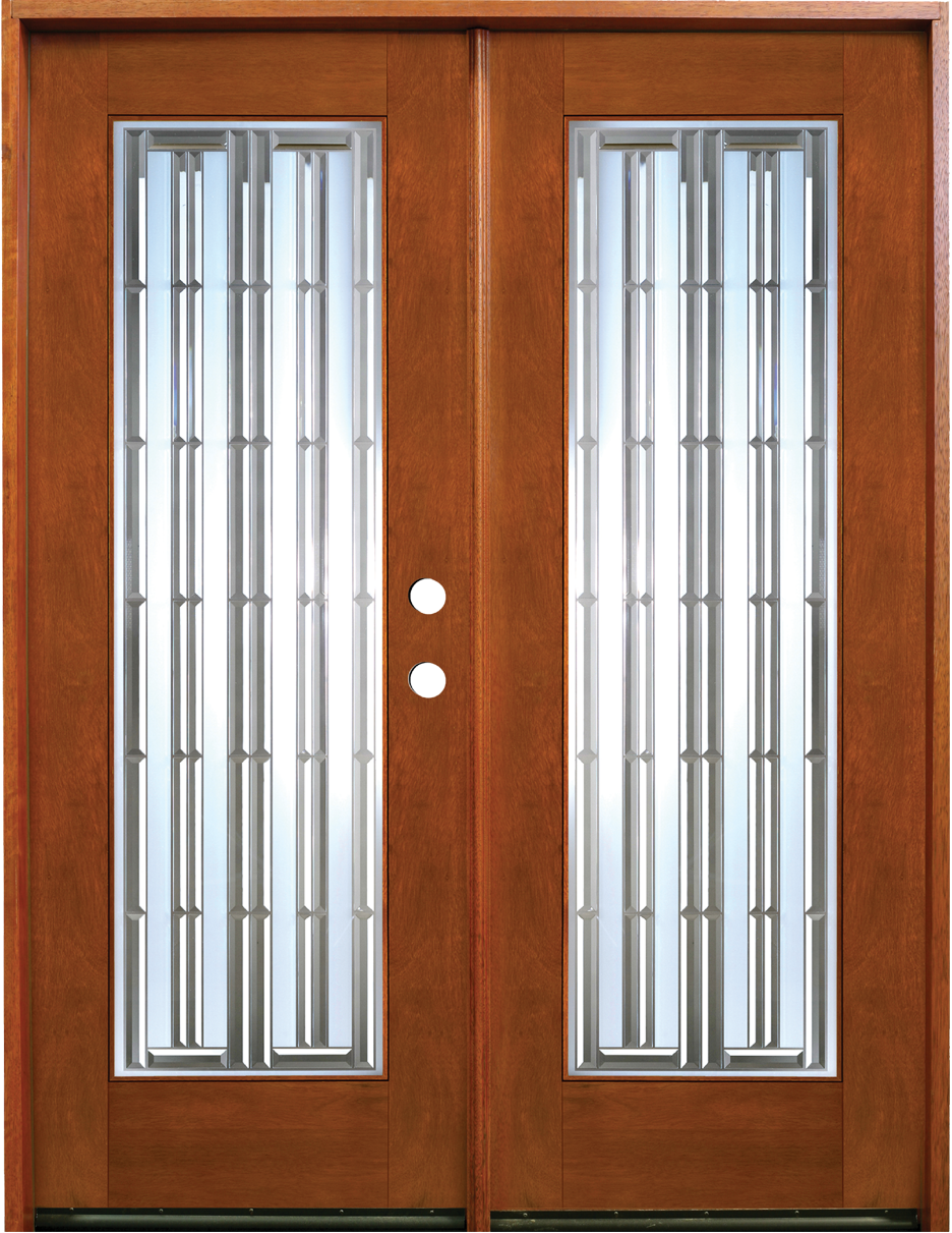Interior french doors with sidelites