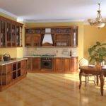 Modern country kitchen cabinets