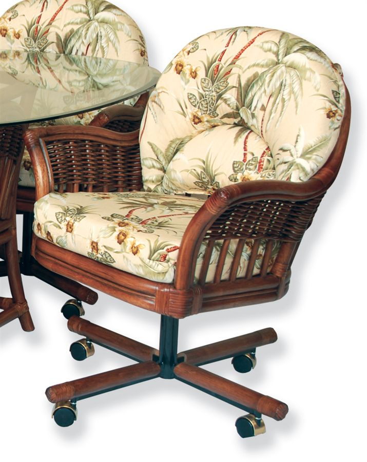 Kitchen chairs with casters