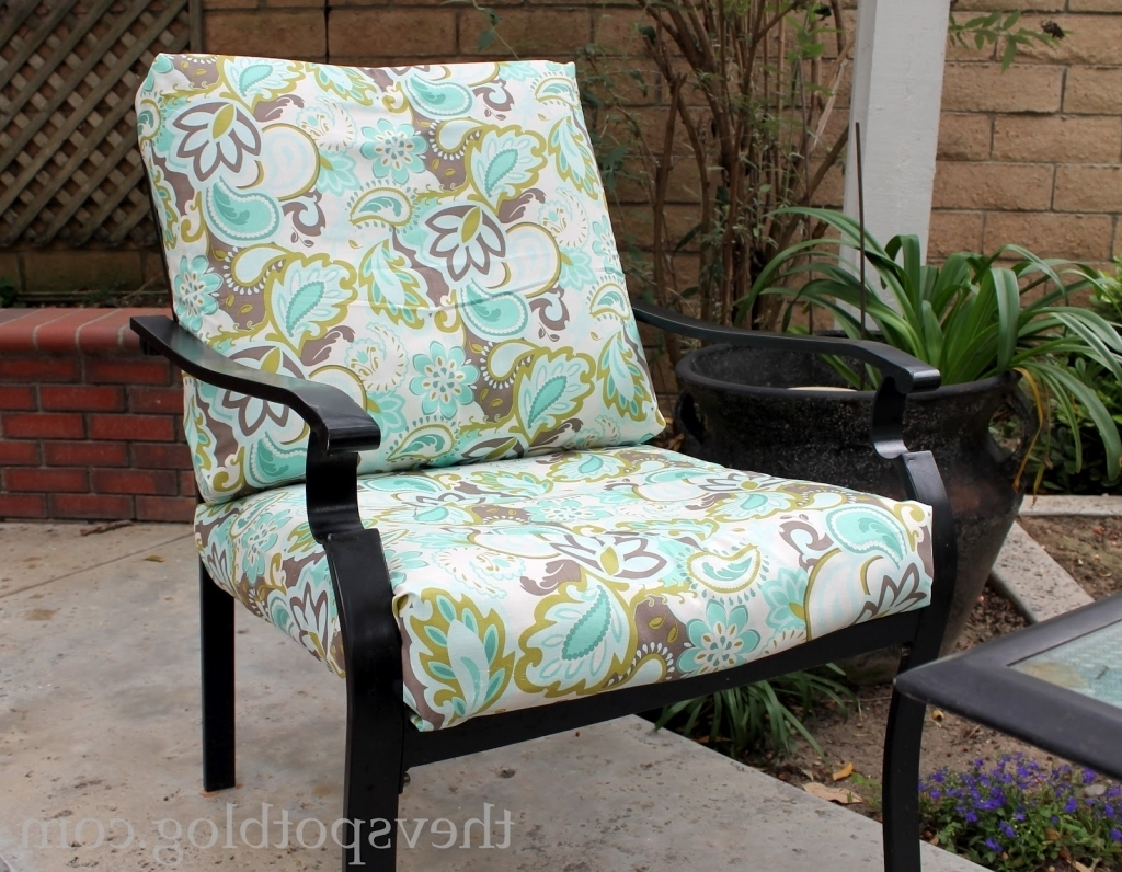 Patio furniture fabric