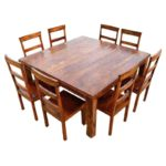 Square dining table sets