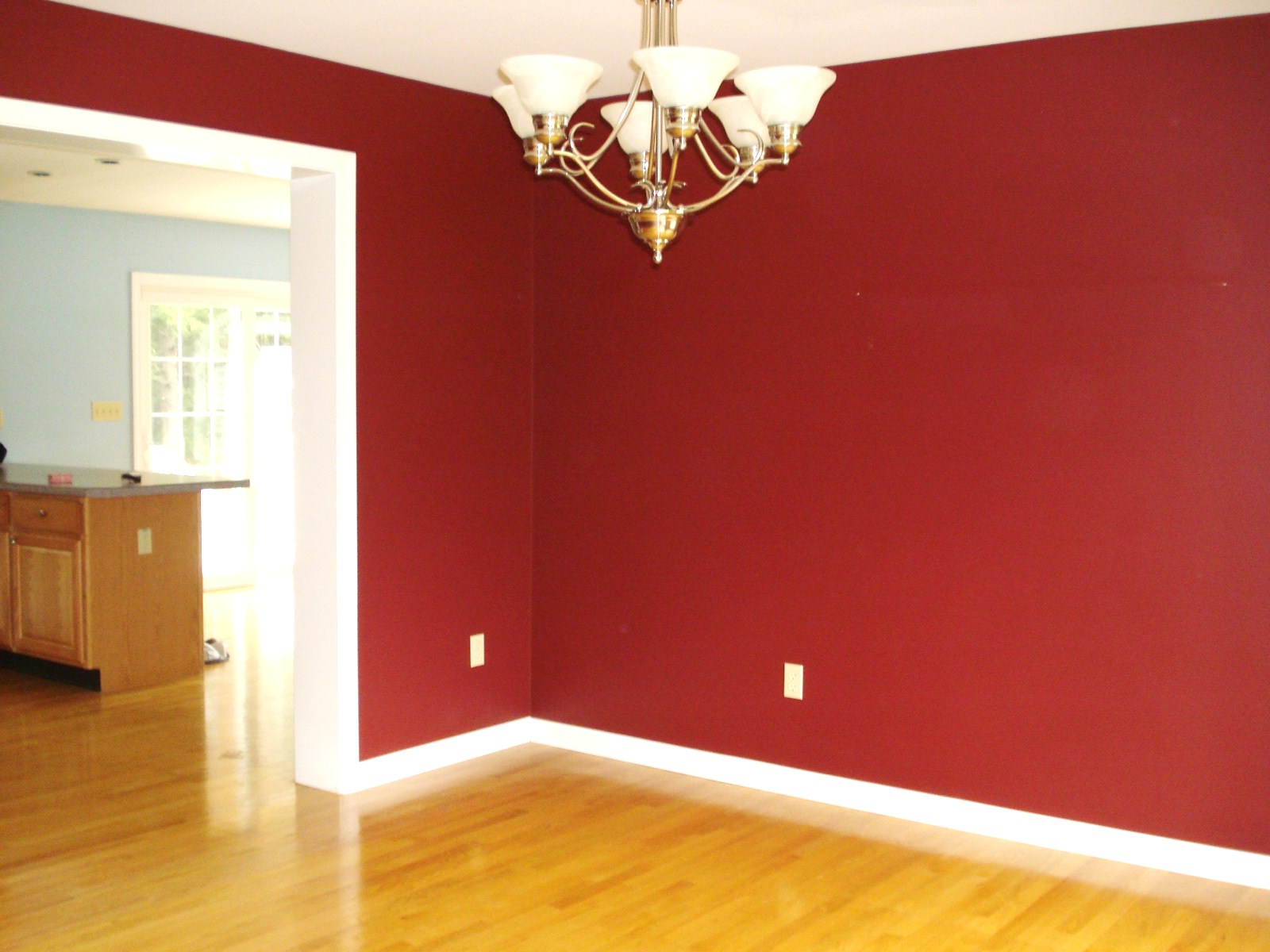 Wall paint different color