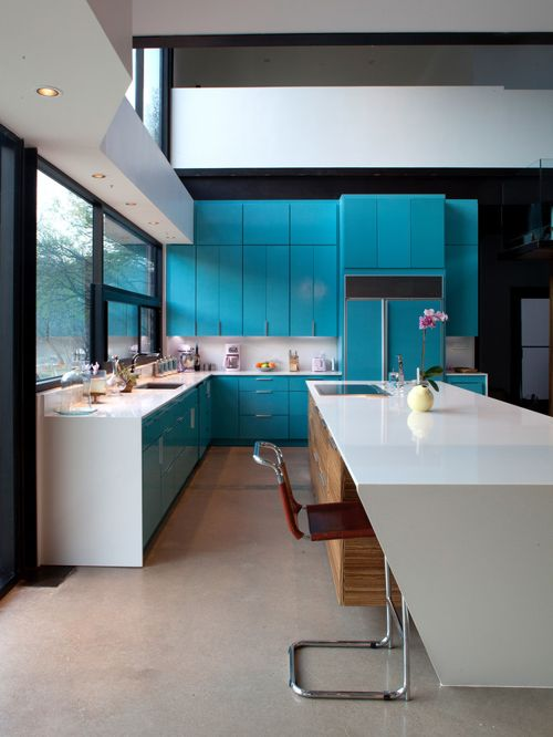 Aqua Kitchen Concept photo - 7