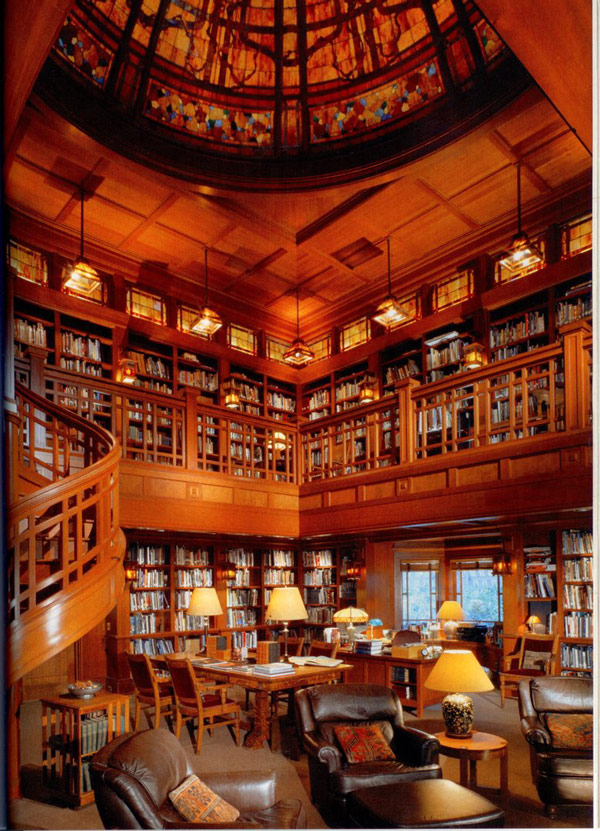 Beautiful Private Library photo - 1