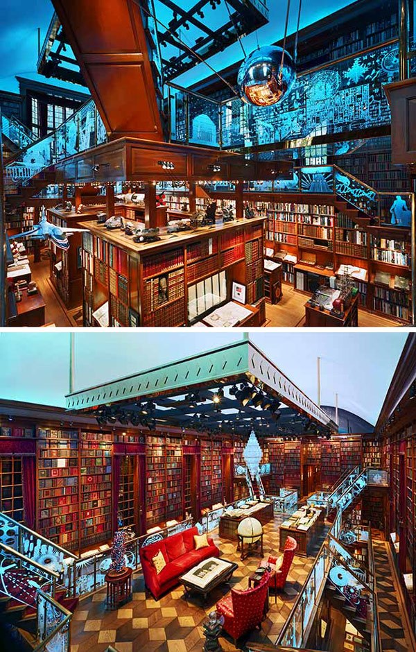 Beautiful Private Library photo - 7