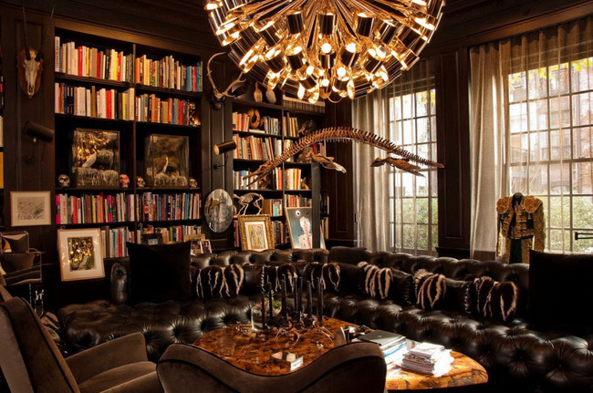 Beautiful Private Library photo - 9