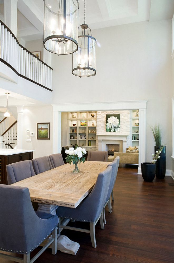 Dining Room on a Living Room Design photo - 9