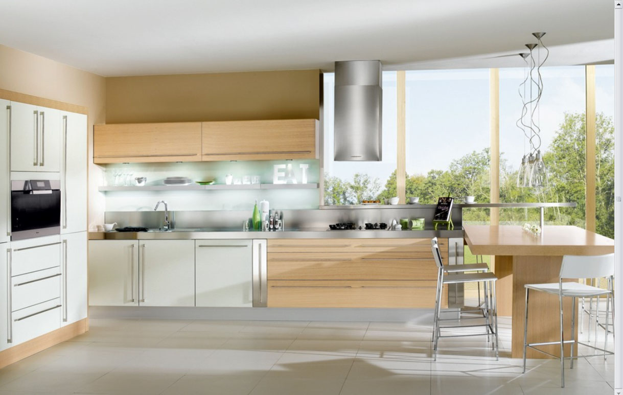 French Contemporary Kitchen photo - 1