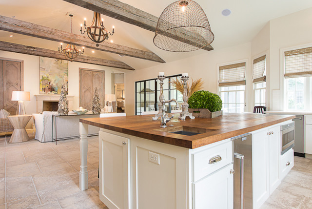 French Contemporary Kitchen photo - 6