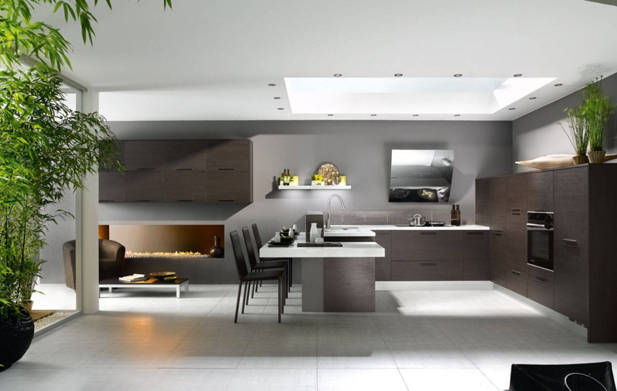 French Contemporary Kitchen photo - 7
