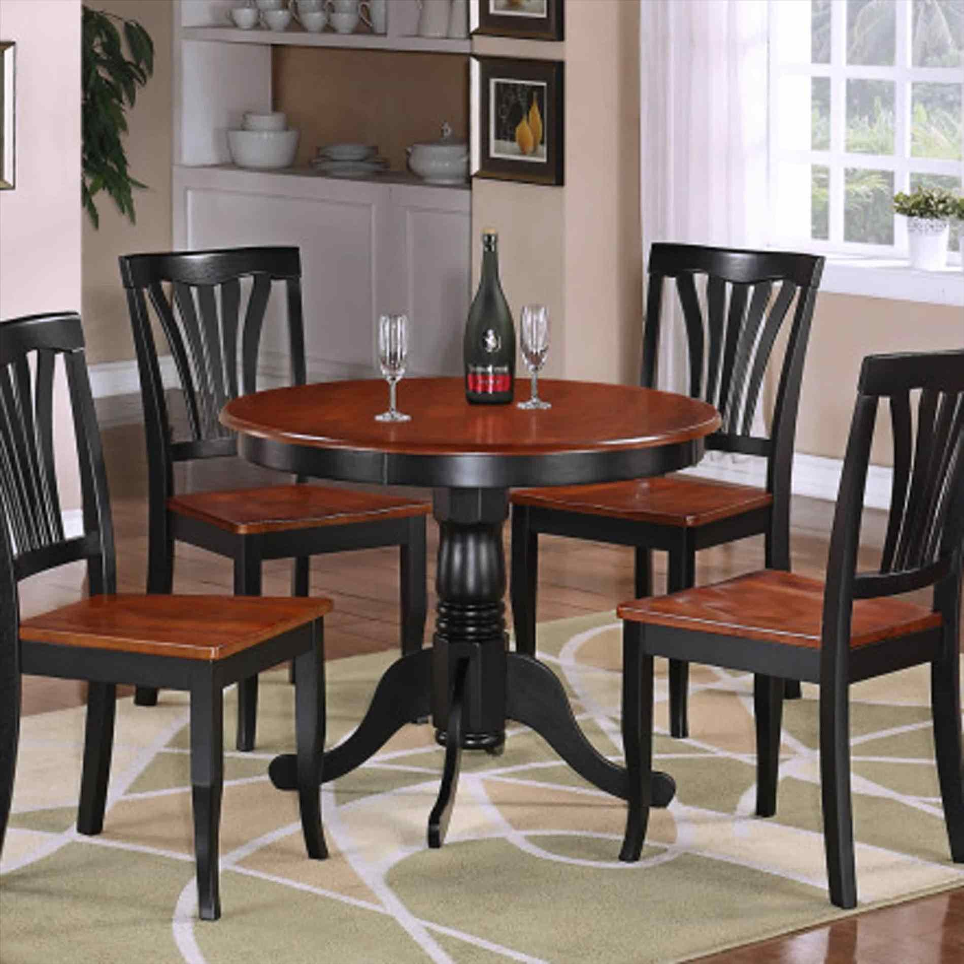 Small Circle Dining Room Table photo - 7