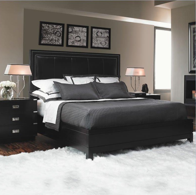 bedroom furniture feather black photo - 4