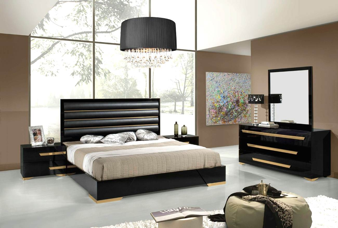 bedroom furniture feather black photo - 9
