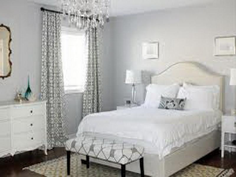 bedroom with white furniture decorating ideas photo - 3