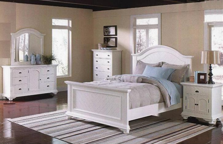 bedroom with white furniture decorating ideas photo - 6