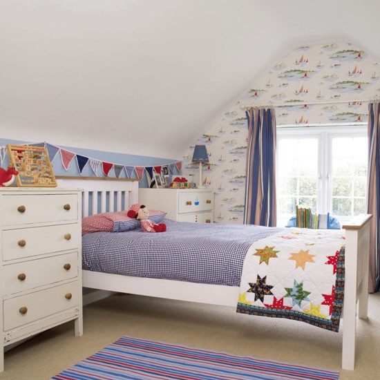 boys room with white furniture photo - 4