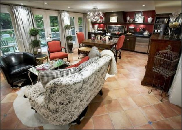 candice olson french country kitchen photo - 3