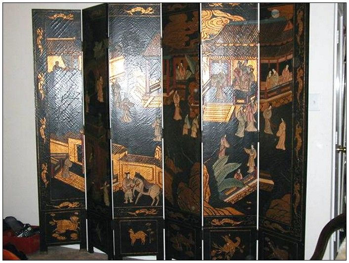 chinese wall room dividers photo - 5