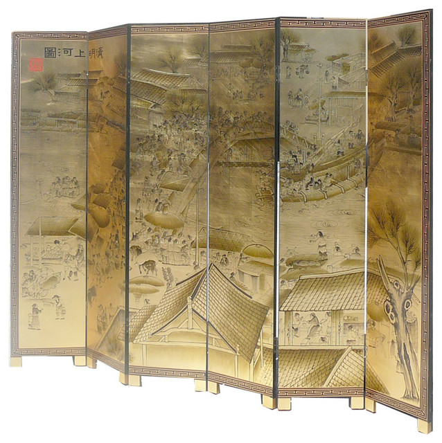 chinese wall room dividers photo - 7