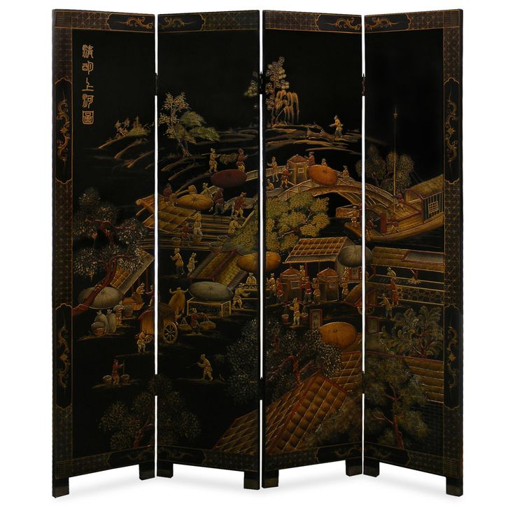 chinese wall room dividers photo - 8