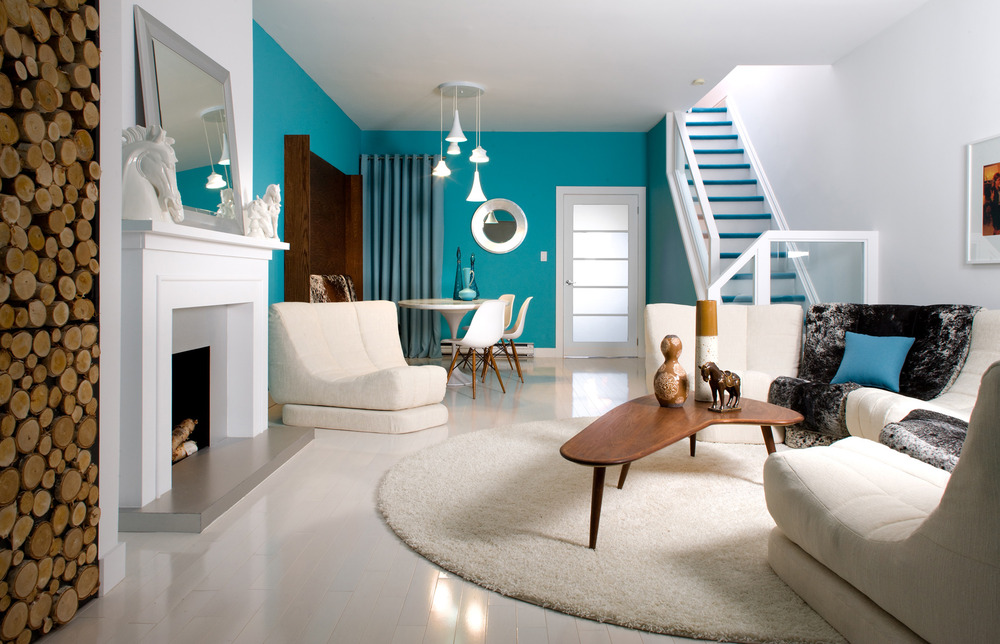 colin and justin living room designs photo - 1