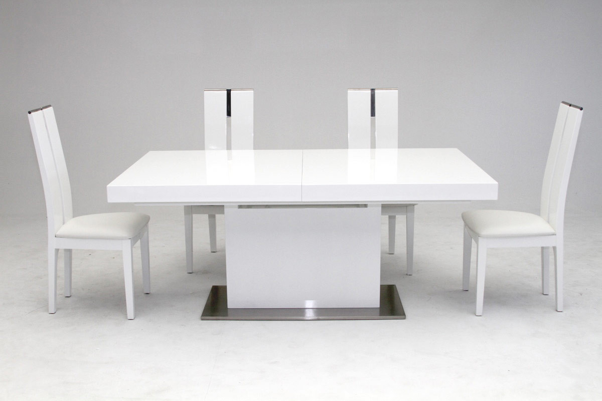 dining tables white photo - 10