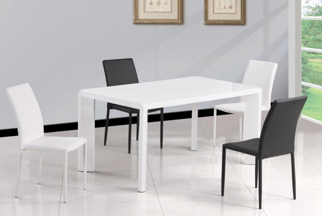 dining tables white photo - 8