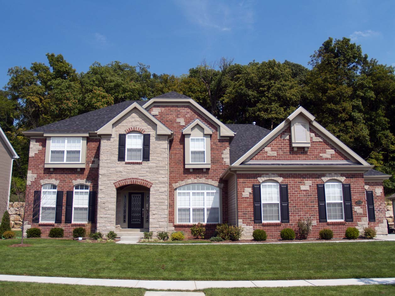 exterior paint colors for brick homes photo - 1