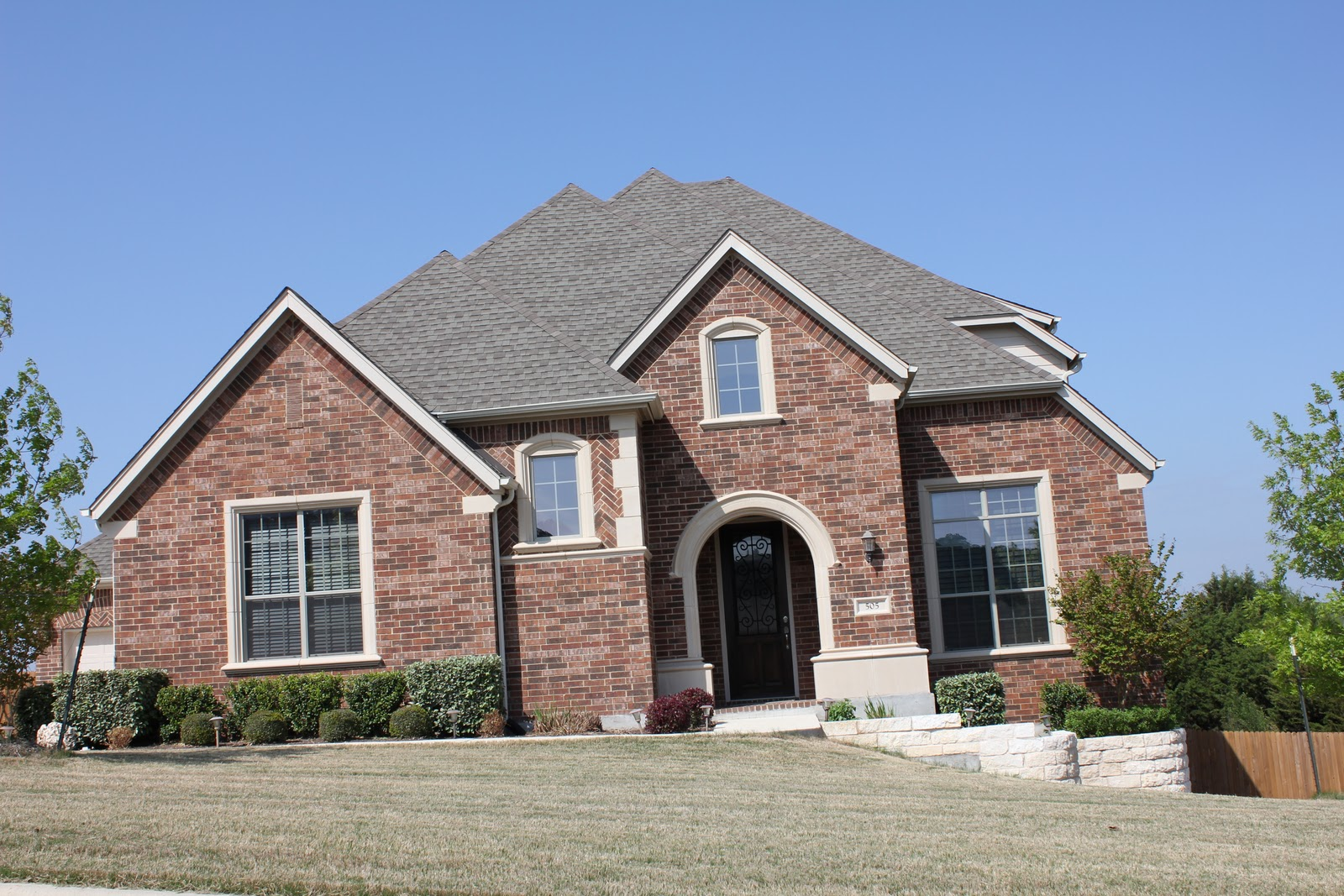 exterior paint colors for brick homes photo - 10