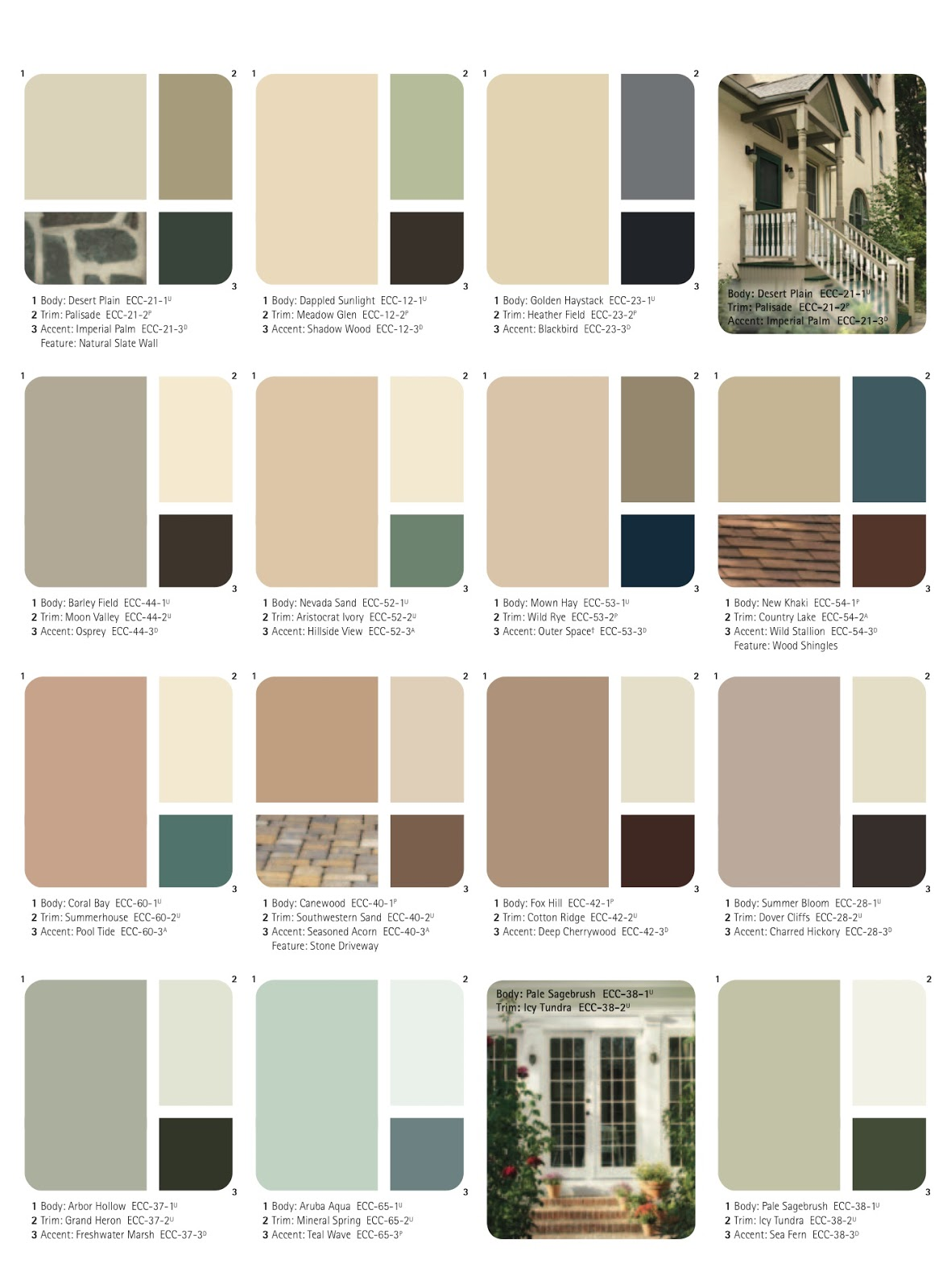 exterior paint colors for brick homes photo - 4