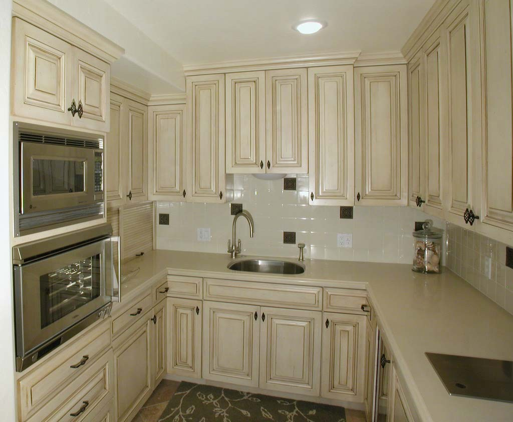 french country kitchen cabinets photo - 3