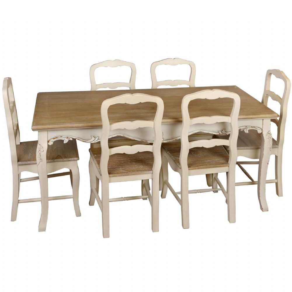 french country kitchen chairs photo - 1