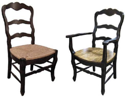 french country kitchen chairs photo - 3