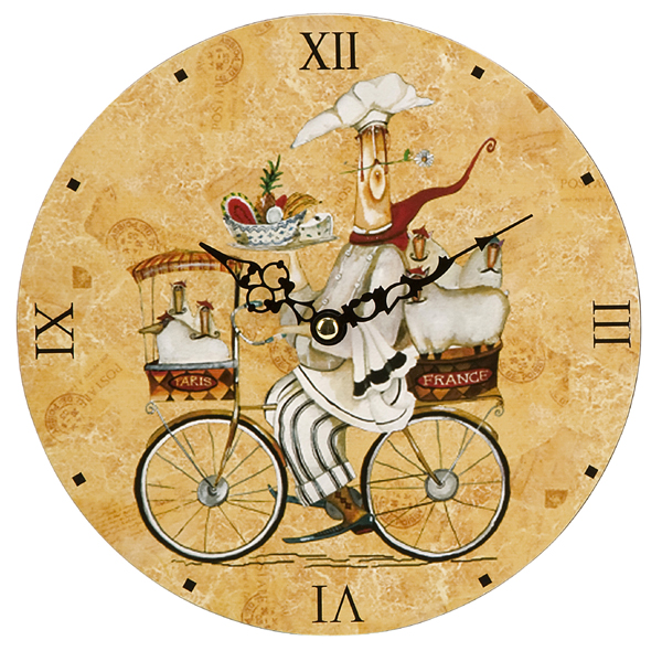 french country kitchen wall clocks photo - 6
