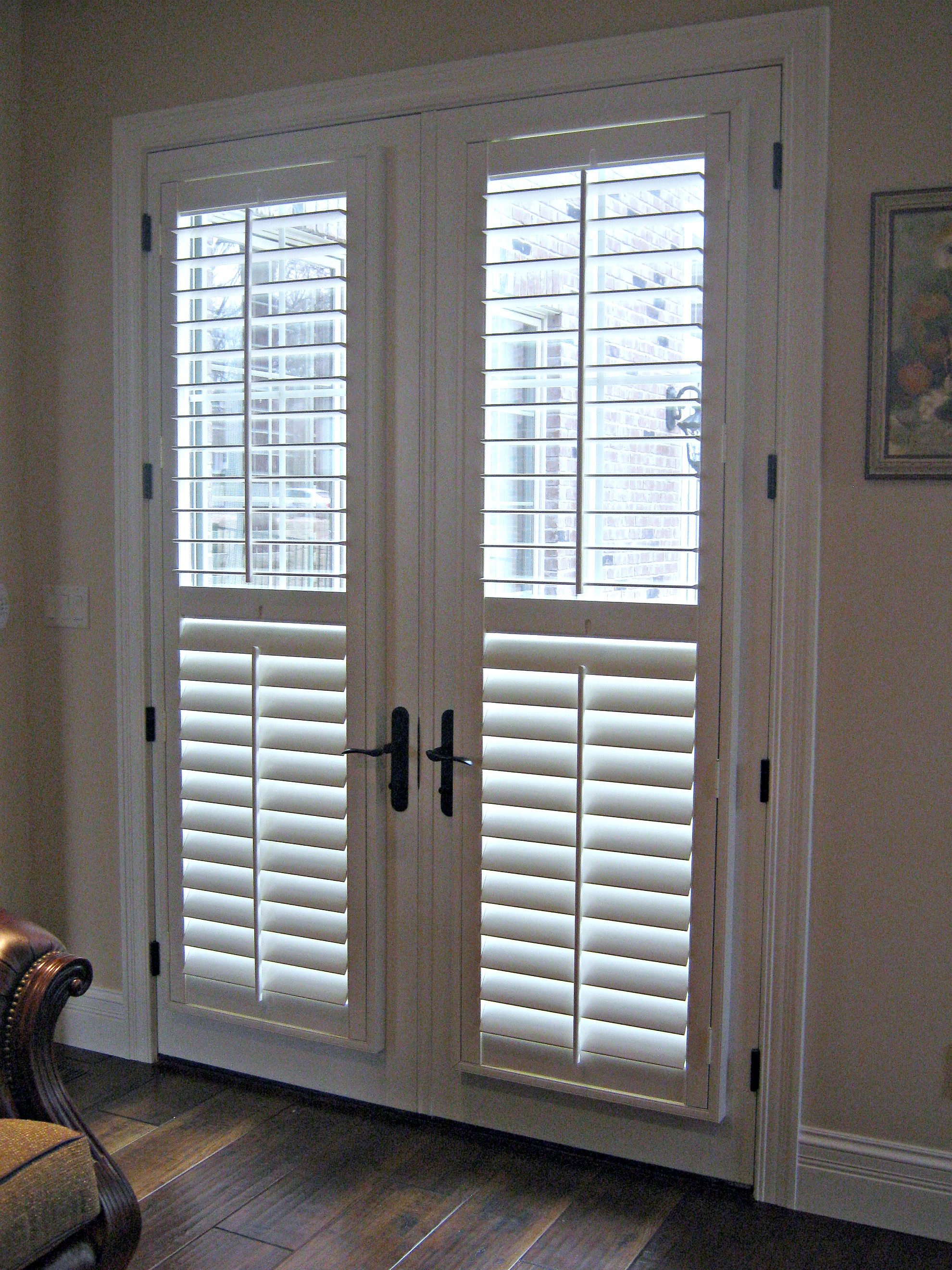 french doors interior 18 inches photo - 8