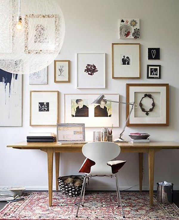 home office wall decor photo - 7