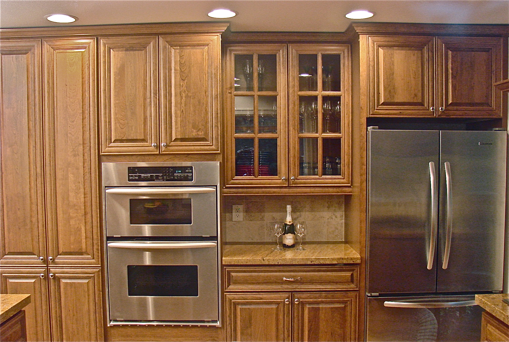 Kitchen cabinet stain colors home depot - Brooklyn Apartment