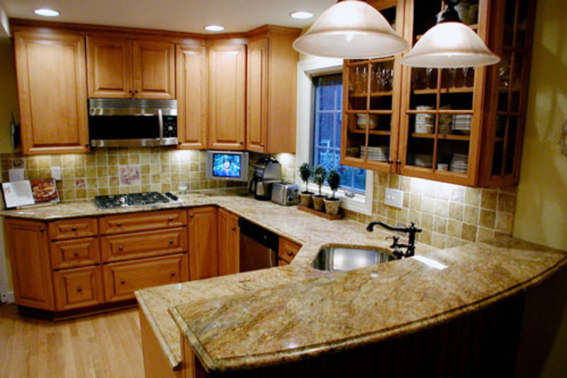 kitchen cabinets ideas for small kitchen photo - 2
