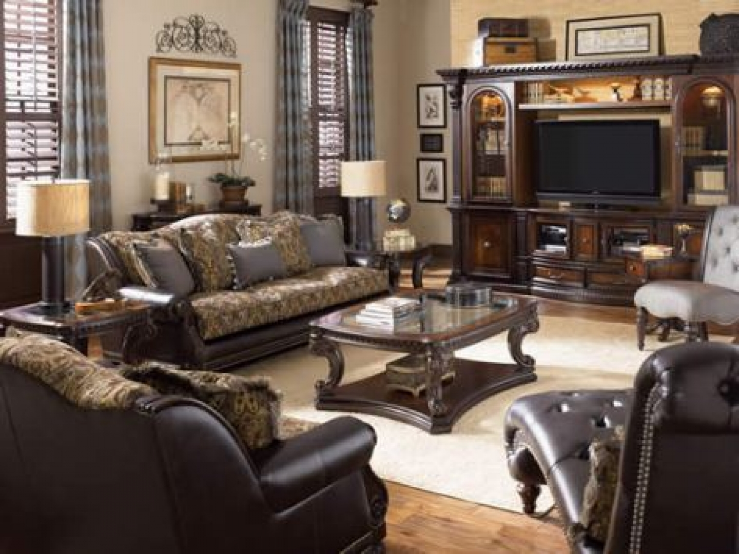 living room furniture ideas traditional photo - 5