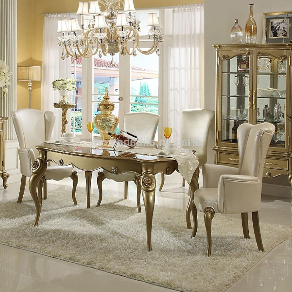 modern classic dining room furniture photo - 4