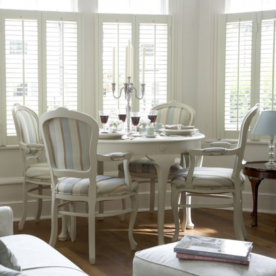 modern classic dining room furniture photo - 5