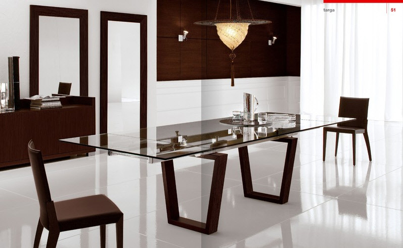 modern classic dining room furniture photo - 7