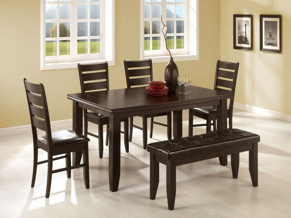 modern classic dining room furniture photo - 8