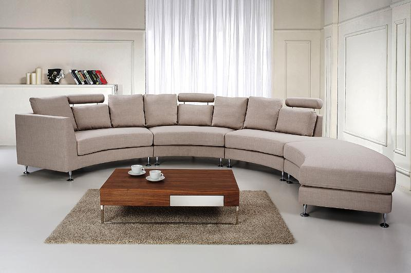 modern curved sectional sofas photo - 10