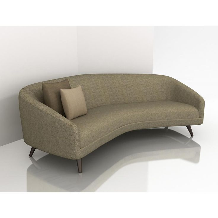 modern curved sectional sofas photo - 5