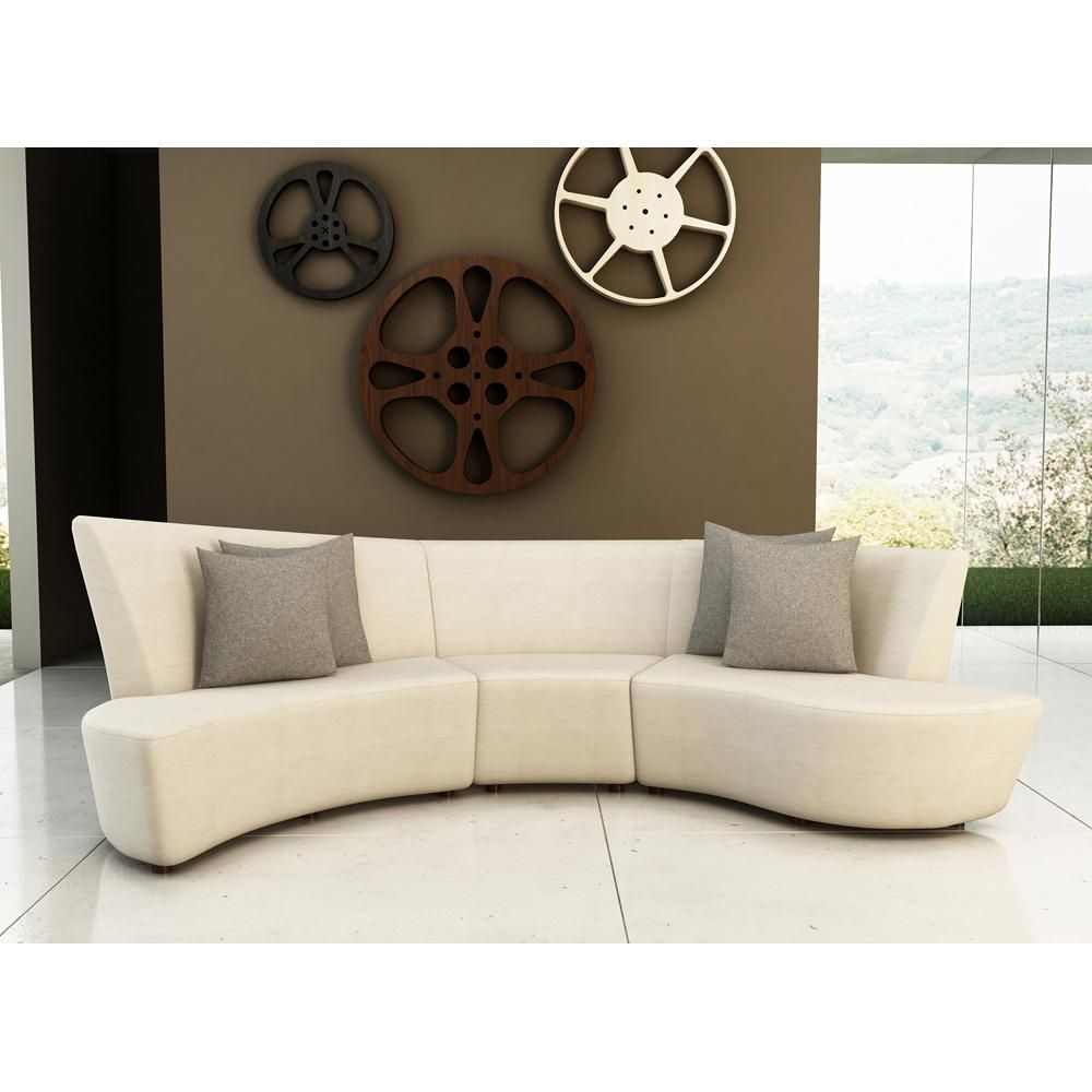 modern curved sectional sofas photo - 6