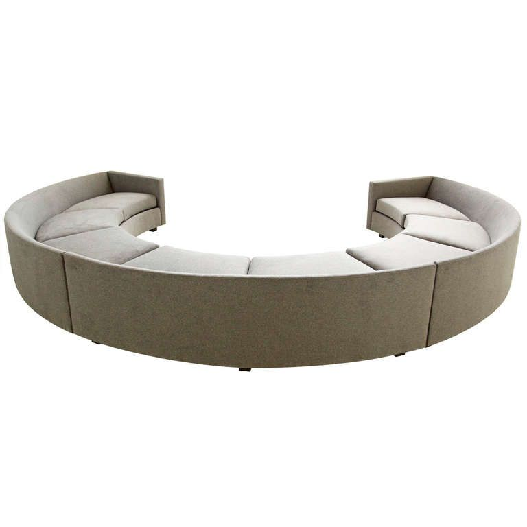 modern curved sectional sofas photo - 8