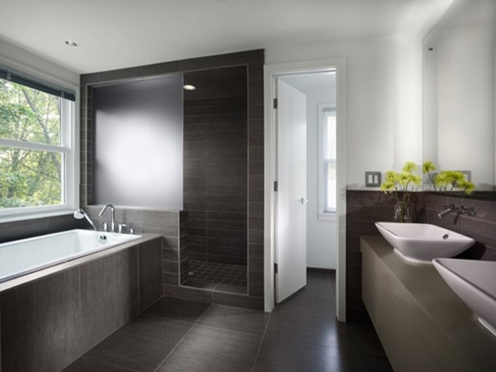 modern home bathroom design photo - 10