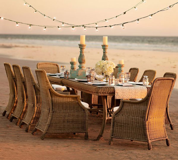 outdoor dining sets pottery barn photo - 2