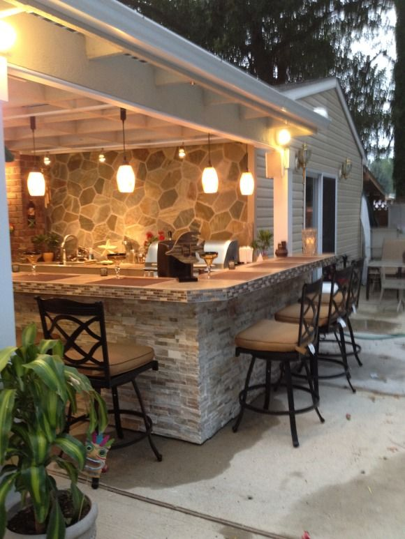 outdoor kitchen and bar designs photo - 10